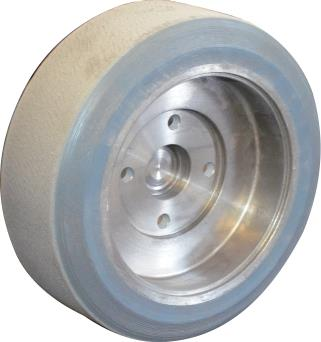 Soft rear wheel with hub